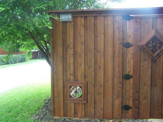 Doggie Window Inspiration Photos | Texas Best Fence