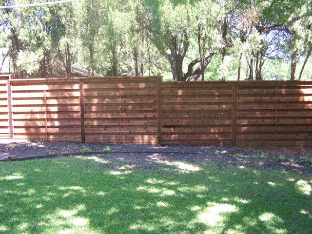 Horizontal Fence Pictures Texas Best Fence