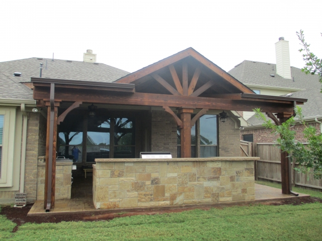 Outdoor Kitchen Inspiration Pictures | Texas Best Fence