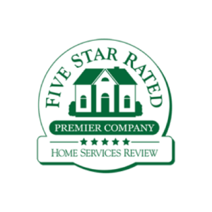 Outdoor Contractor - Five Star Rating Review Graphic