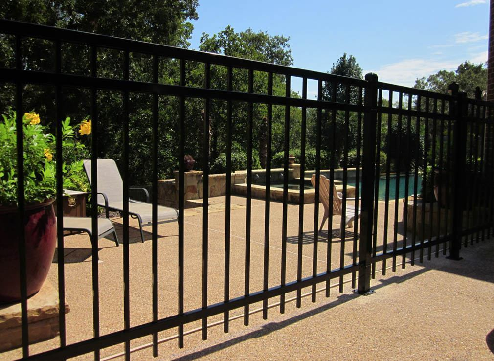 ornamental fences - wrought iron