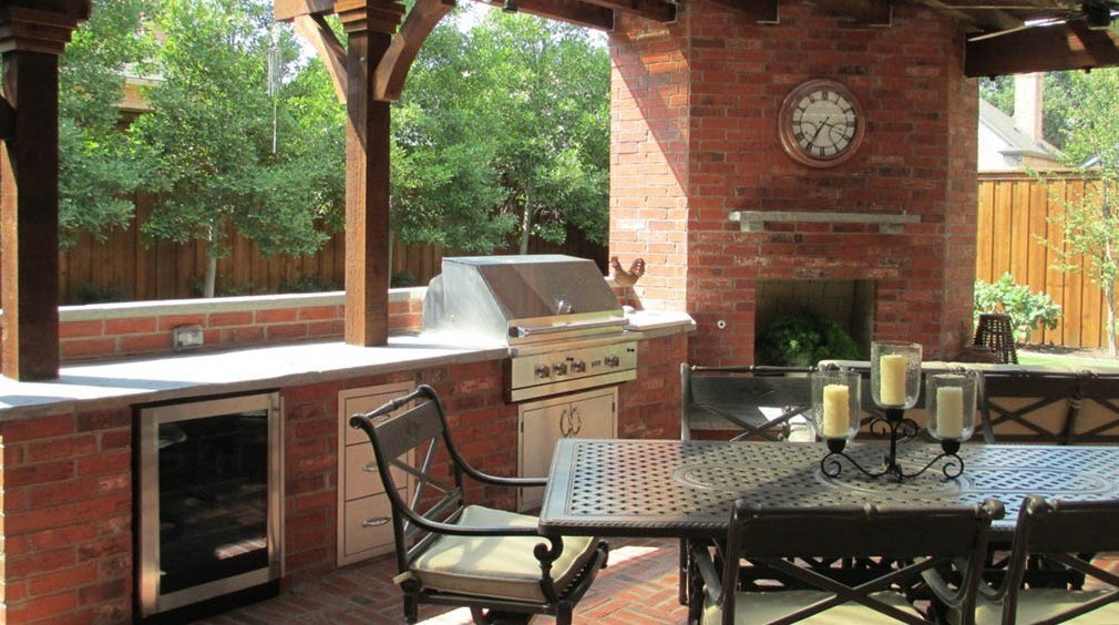 customize your space with outdoor kitchen components