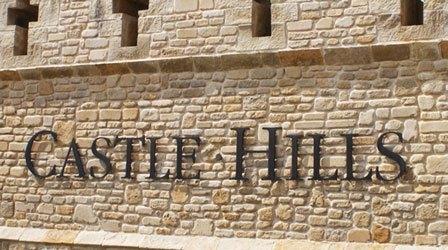 castle hills stone entrance