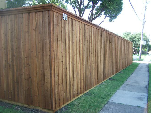 Board on Board Cedar Fence Plano TX