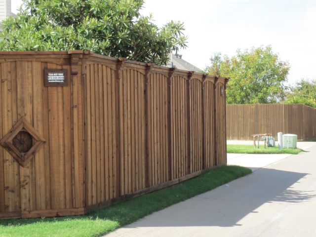 Decorative Gate Fence Board On Board