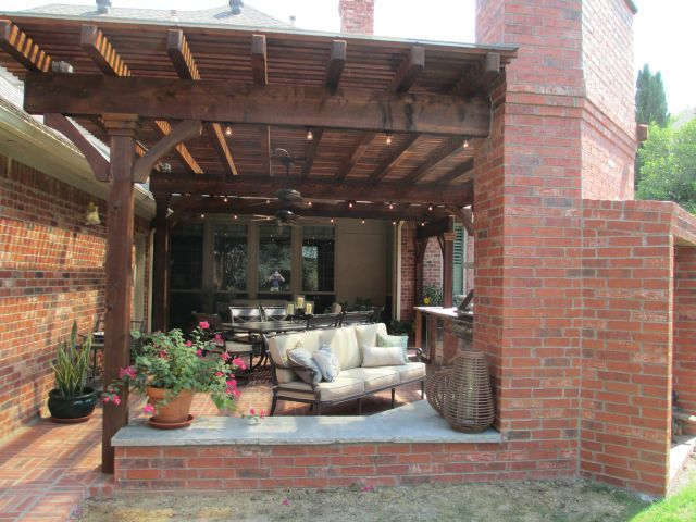 Outdoor Kitchen Pictures Texas Best Fence
