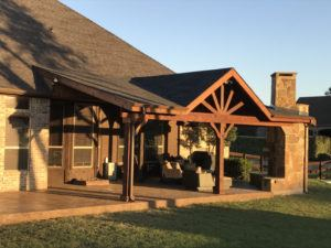 Outdoor Features - patio with patio cover