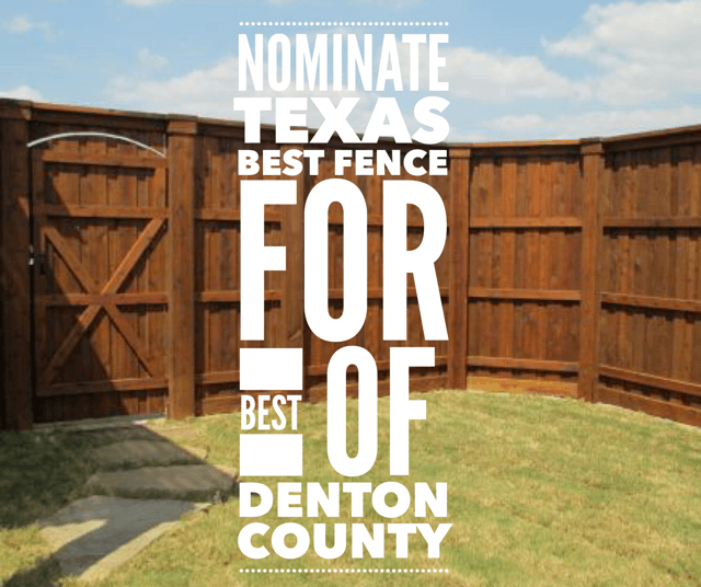 Best of Denton County - Graphic for Best of Denton County Nomination