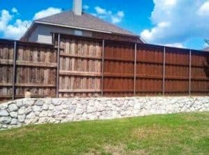 wood stain - wood fence stain before and after