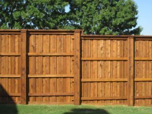 Outdoor Contractor - Wood Fence